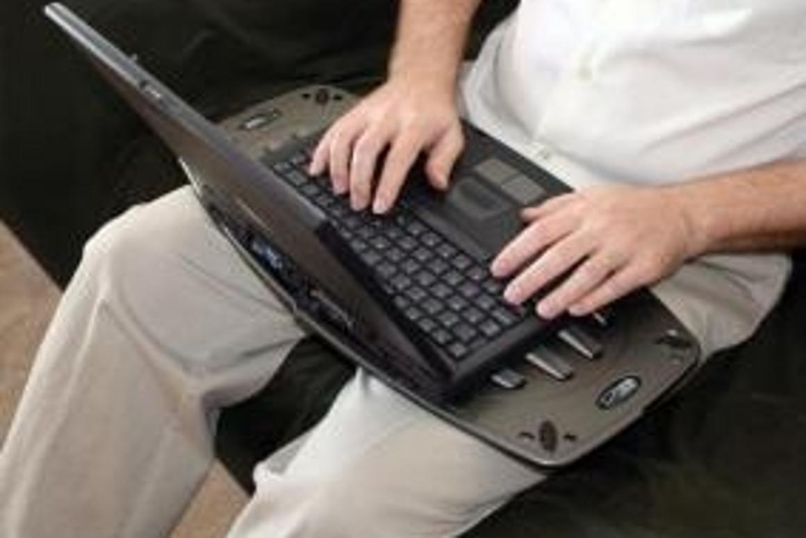 Lapworks' Laptop Desk Futura