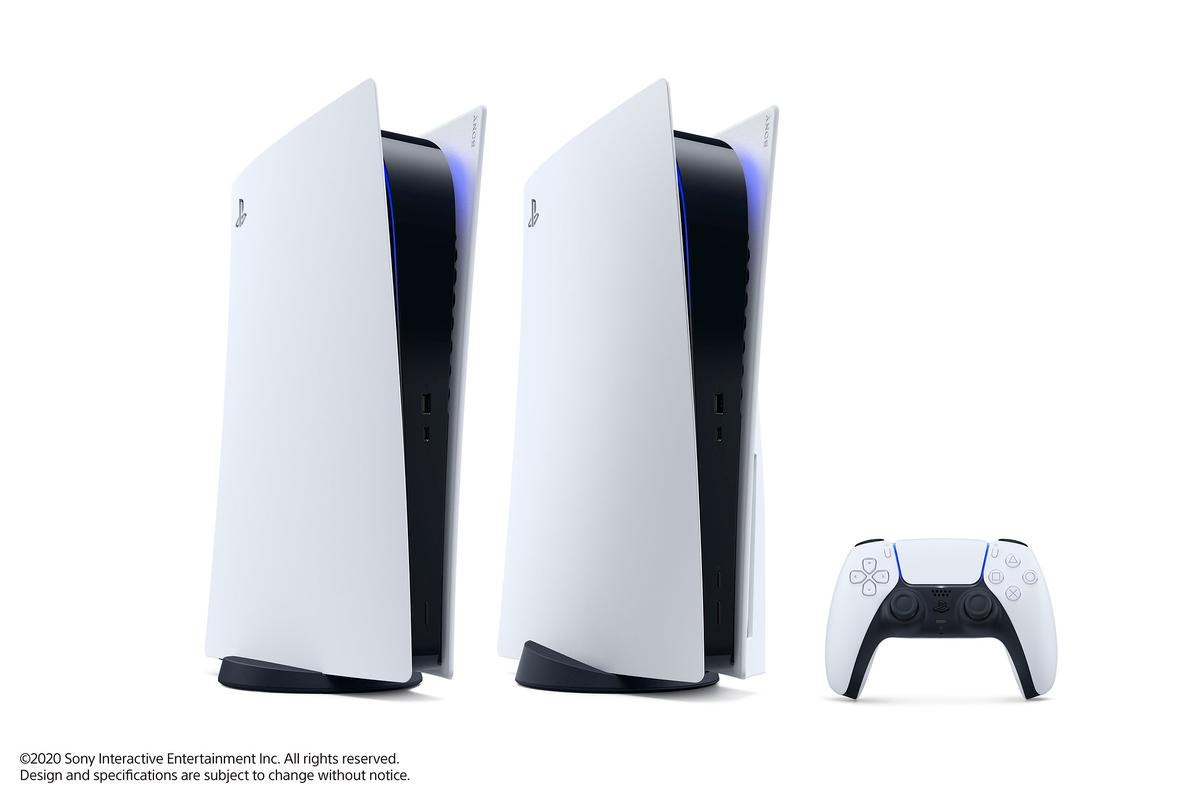 The Sony PlayStation 5 comes in two models – one with an Ultra HD disc slot, and a digital-only version