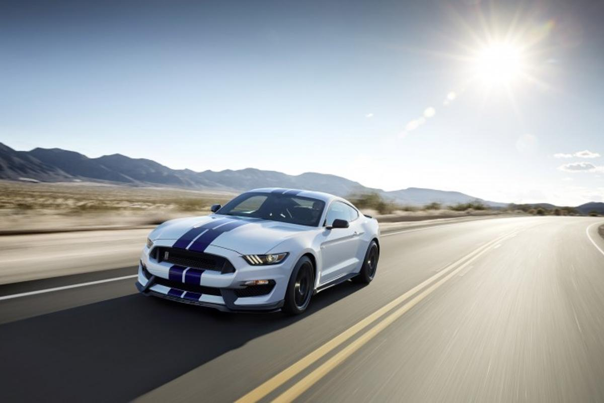 The GT350 debuts a magnetic ride system for Ford