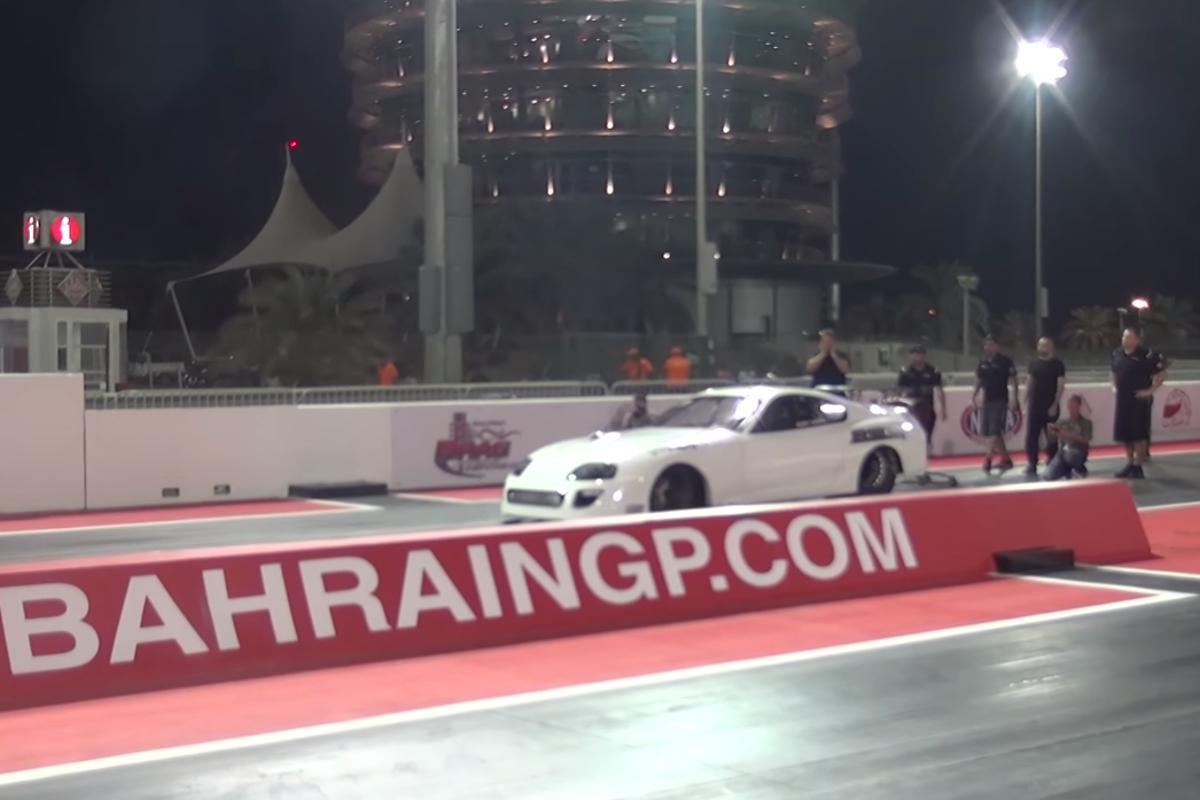 The record-breaking Ekanoo Racing Outlaw Supra