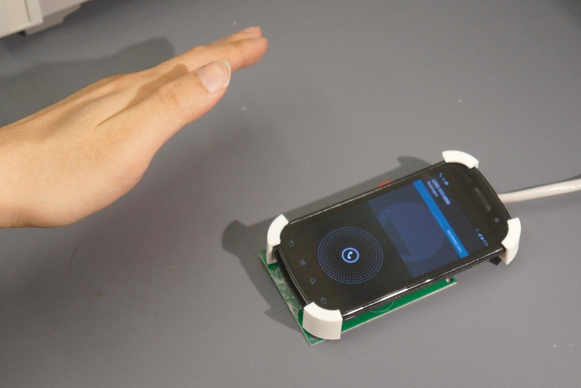 SideSwipe is said to be far more energy-efficient than camera-based gesture recognition systems