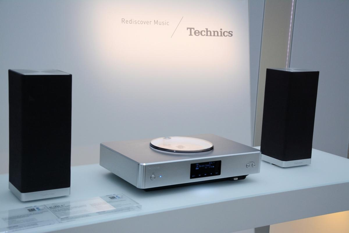 """Panasonic's Michiko Ogawa said the Ottava hi-fi system produces a """"rich and vibrant sound within a compact body"""""""