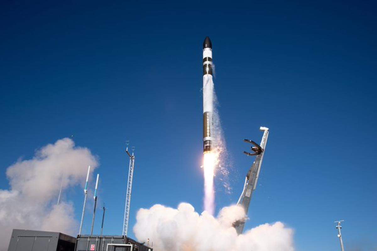 Rocket Lab's Electron booster lifts off today as part of a swift and smooth return to action for the company
