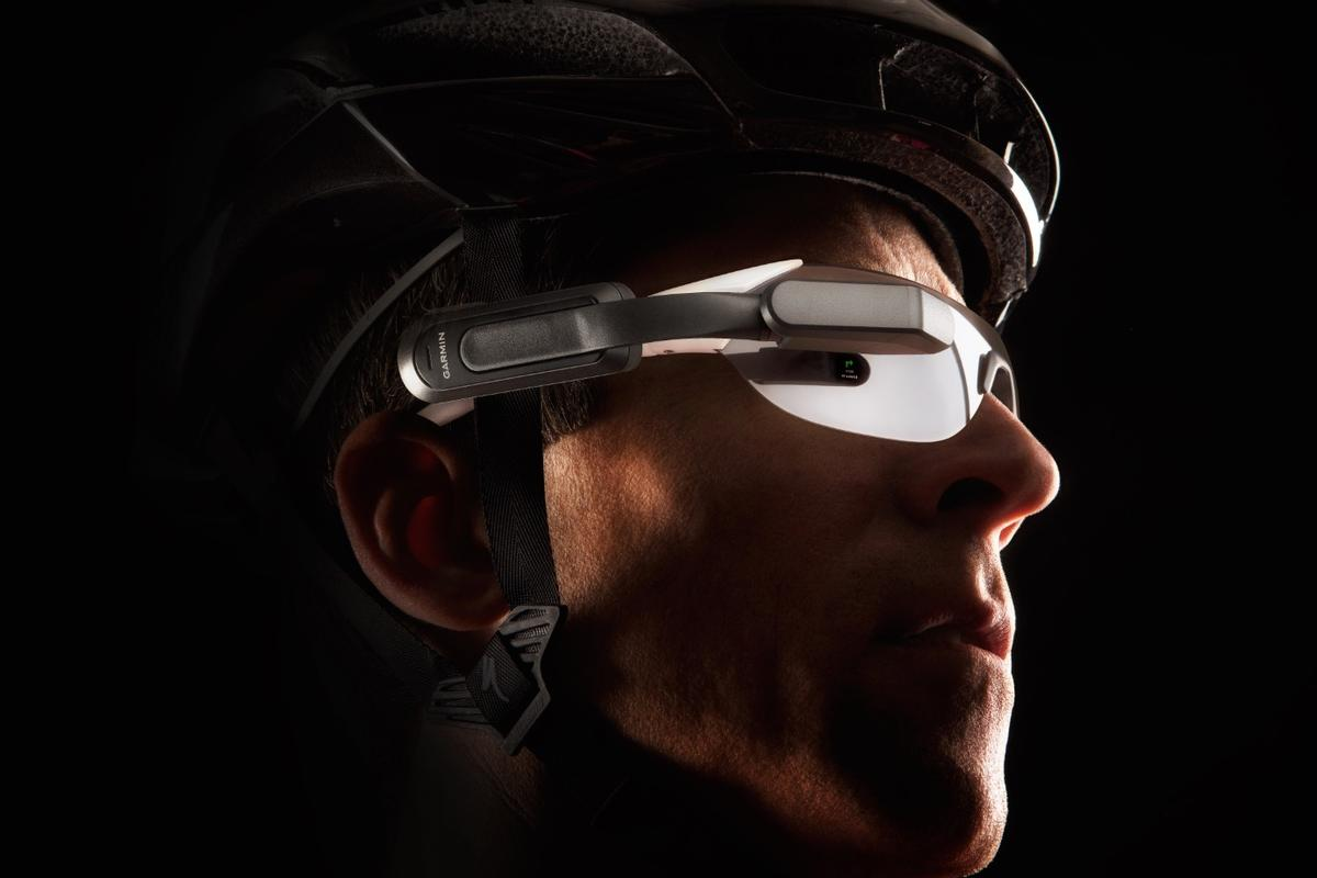 The Varia Vision is reportedly compatible with most existing cycling glasses
