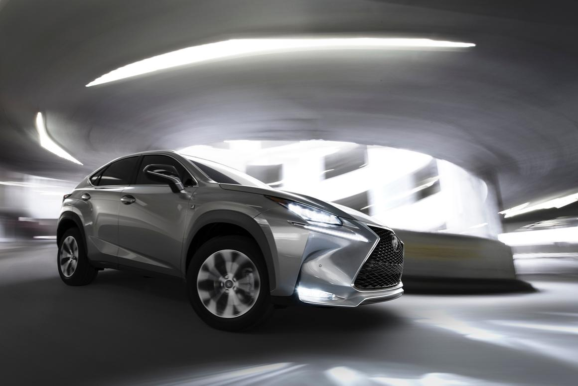 The all-new Lexus NX crossover