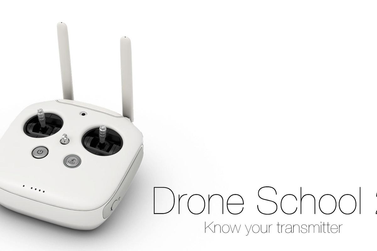 Drone School 2: transmitter mods, flight modes, trim controls and basic controls