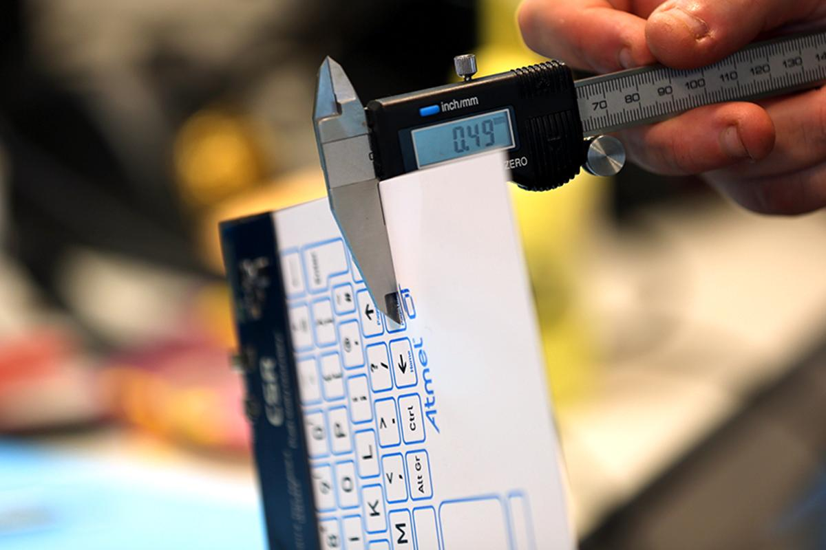 """The """"world's thinnest"""" touch-sensitive surface from Cambridge Silicon Radio"""