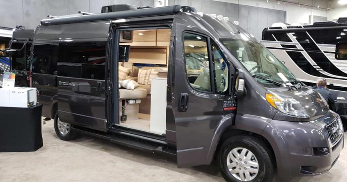 Thor Motor Coach explores new roads with solar-powered, multi-sport camper van