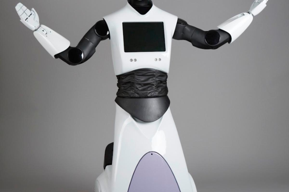 The original REEM robot from PAL Robotics as unveiled back in 2011