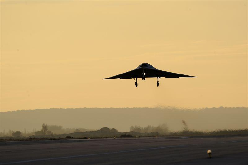 The nEUROn Unmanned Combat Aerial Vehicle (UCAV) demonstrator takes to the air for the first time