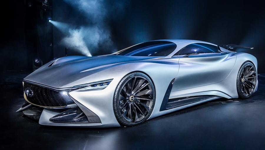 "Infiniti describes its Vision GT concept as ""part beauty, part beast"""