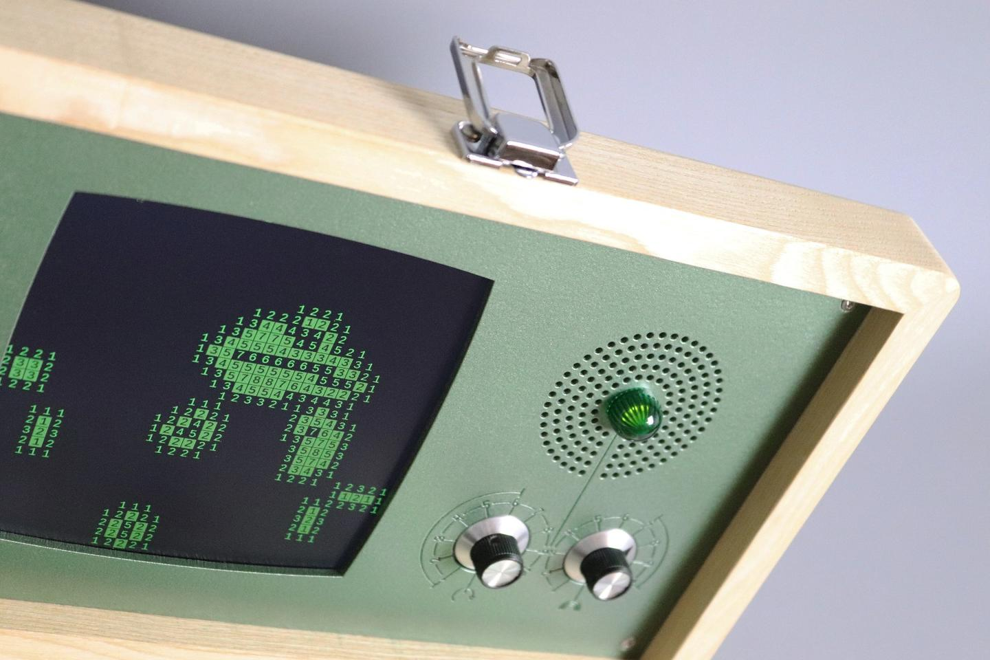 Sound generation for the Evoboxx is based on a zero-player game from 1970 called Game of Life
