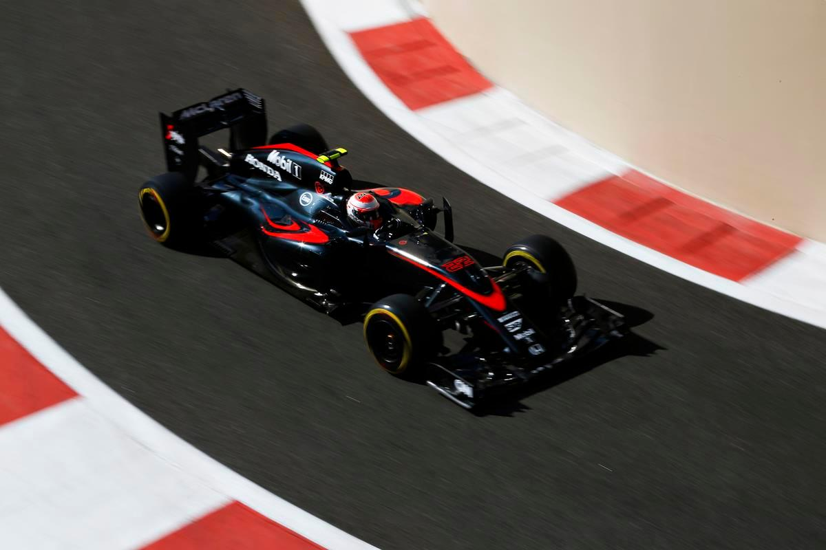 The current McLaren Honda Formula One race car is a very high-tech machine