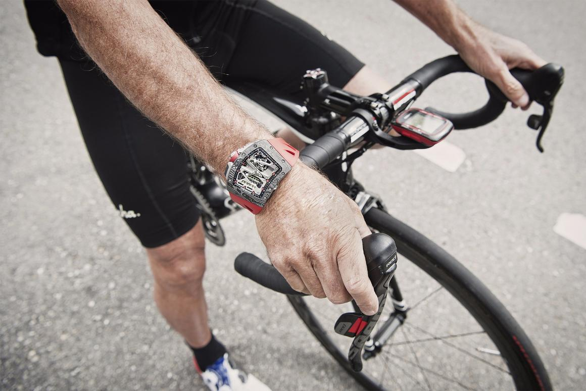 The RM 70-01 was designed in collaboration with former Formula One driver-turned-cycle racer Alain Prost