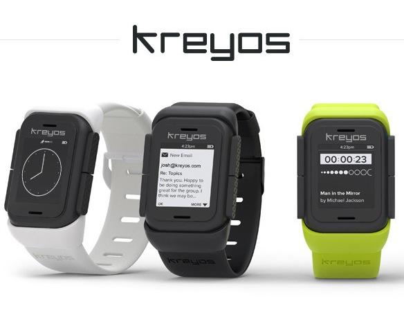 The Kreyos Meteor smartwatch offers voice controls and gesture controls, making this a possible next step towards the Star Trek communicator technology