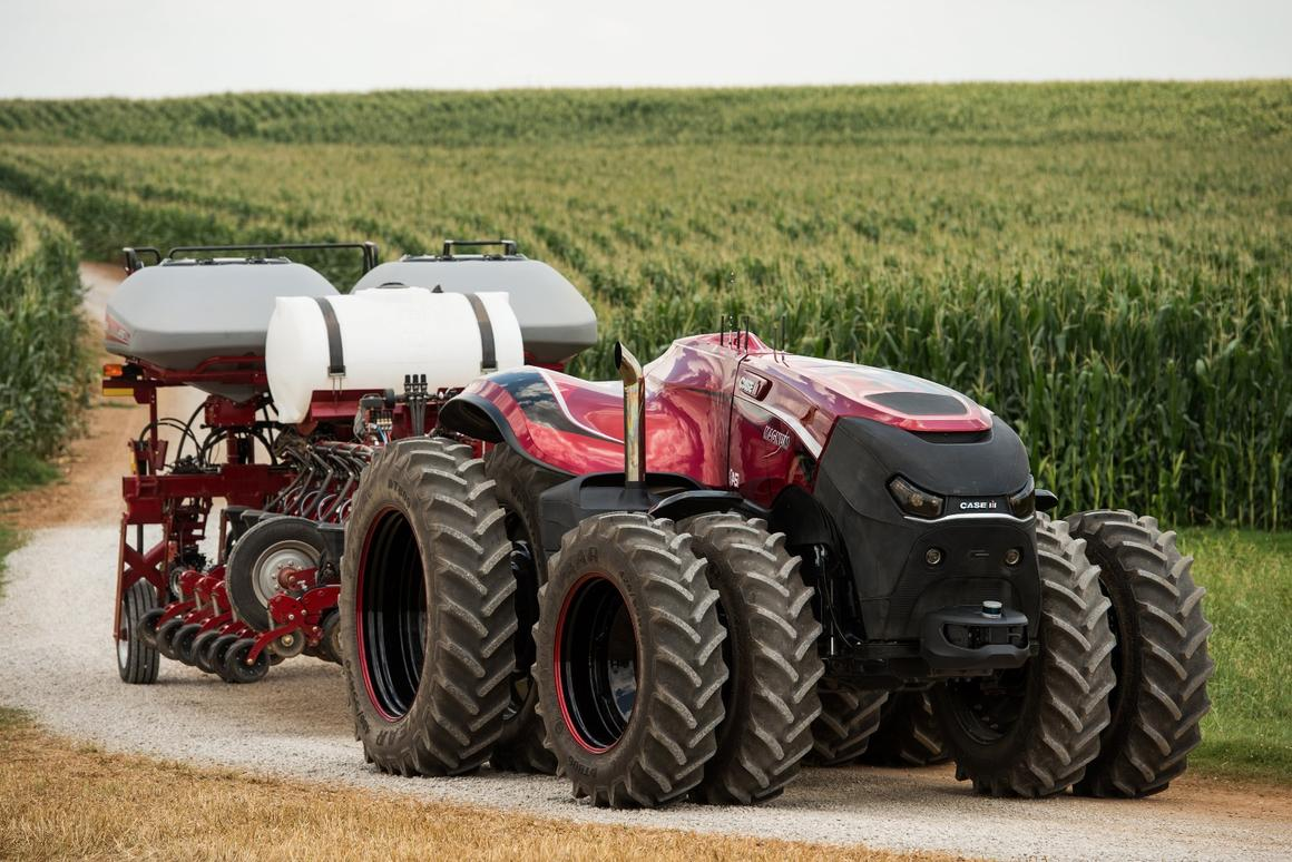 Self-driving tractors can work day and night, through rain, hail and shine