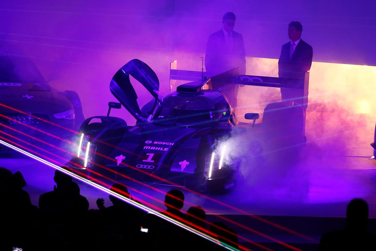 Audi premiered the new R18 e-tron quattro earlier this week