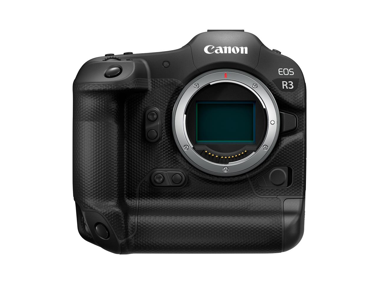 The EOS R3 will be built around a brand-new back-illuminated full-frame stacked-CMOS sensor developed and manufactured by Canon