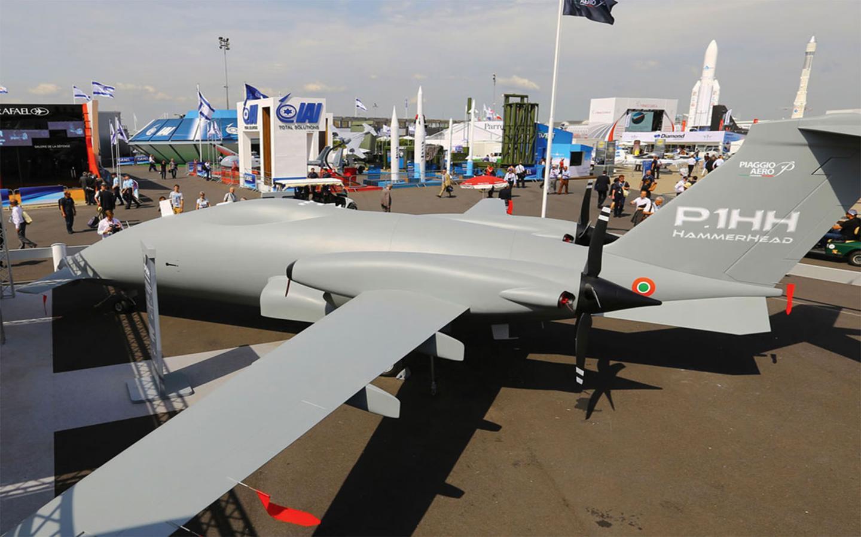 The HammerHead is an unmanned version of the Piaggio Avanti II P180 aircraft (Photo: Piaggio)