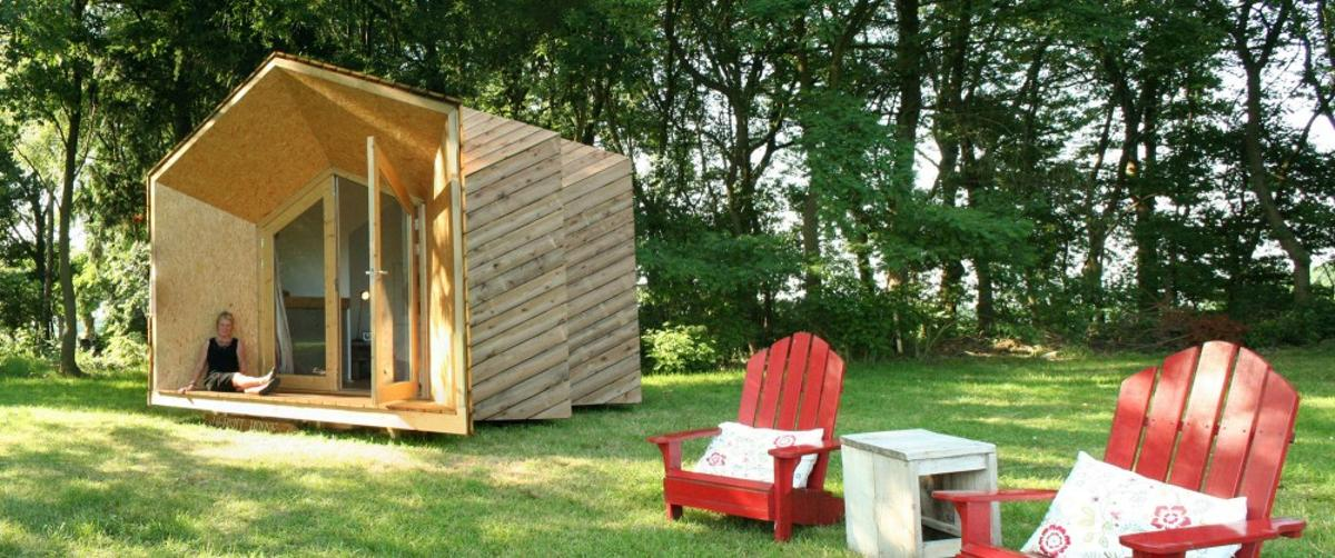 Dutch duo Daniel Venneman and Mark van der Net have created an open source home kit, which allows DIYers to build and customize their own micro house