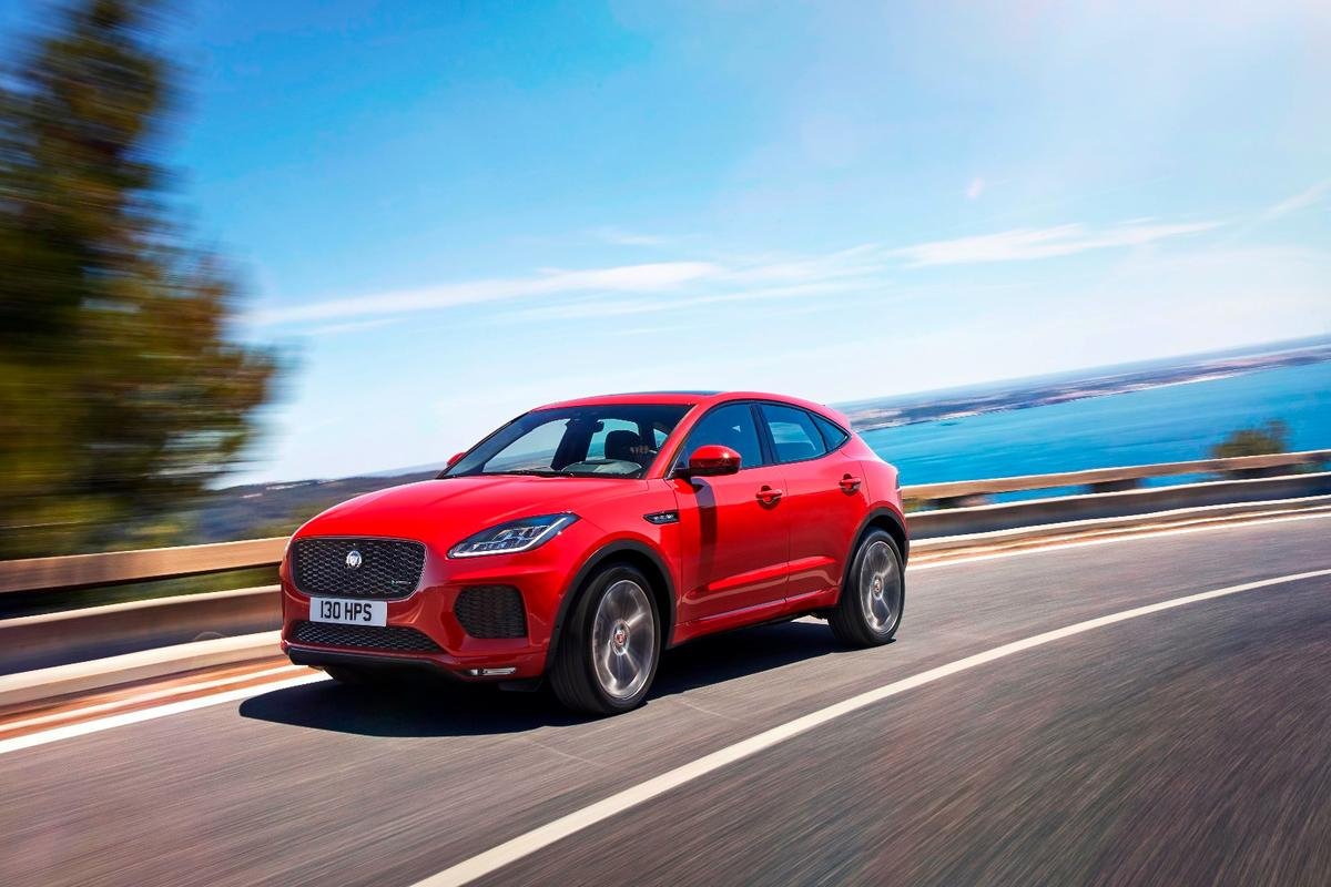 The E-Pace joins the F-Pace in Jaguar's SUV lineup
