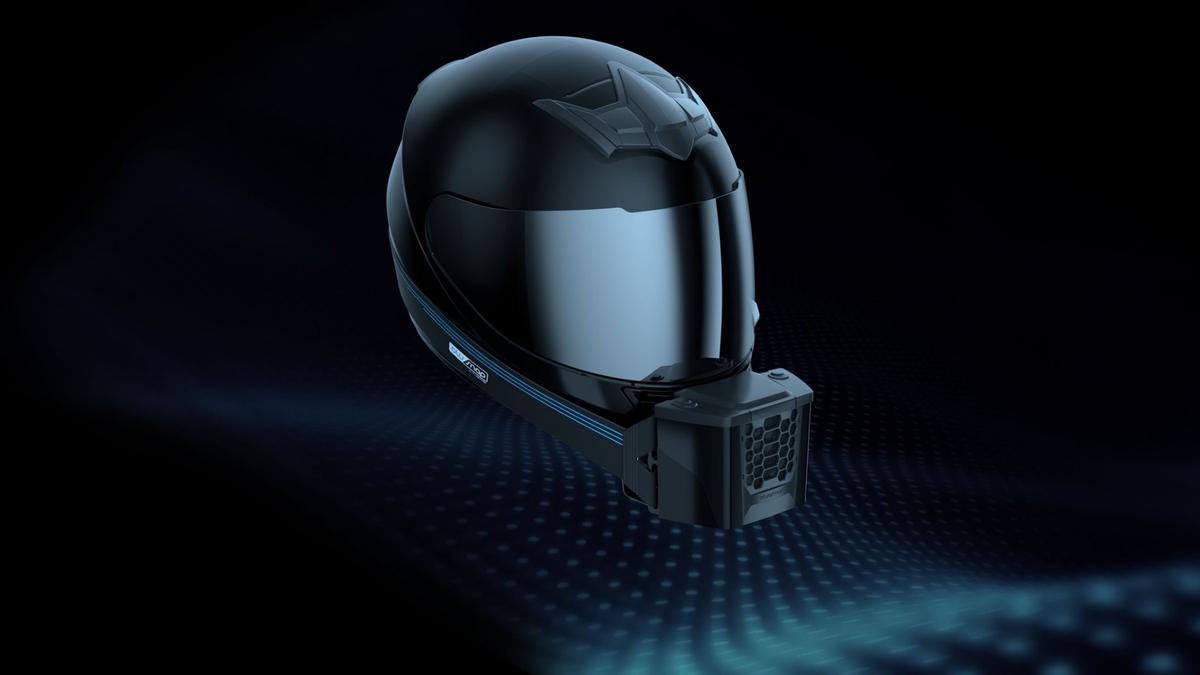 With the BluSnap, BluArmor Helmets aims fora constant breathof fresh air inside the helmet