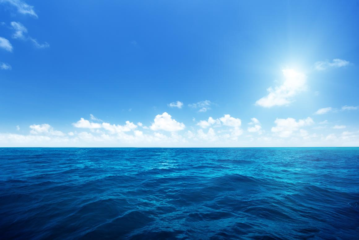 The changes to ocean color could be noticeable from space