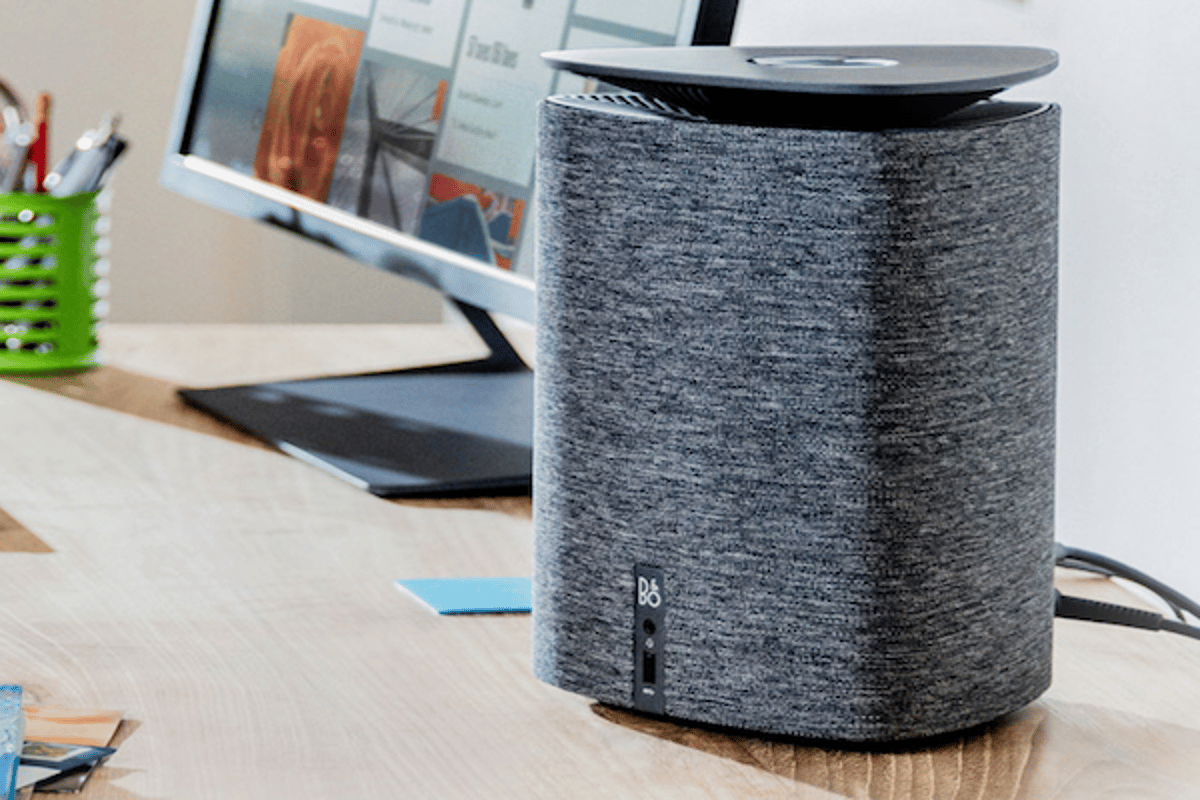 HP has unveiled the new Pavilion Wave, a smart-speaker-styled desktop PC with Amazon Alexa built in