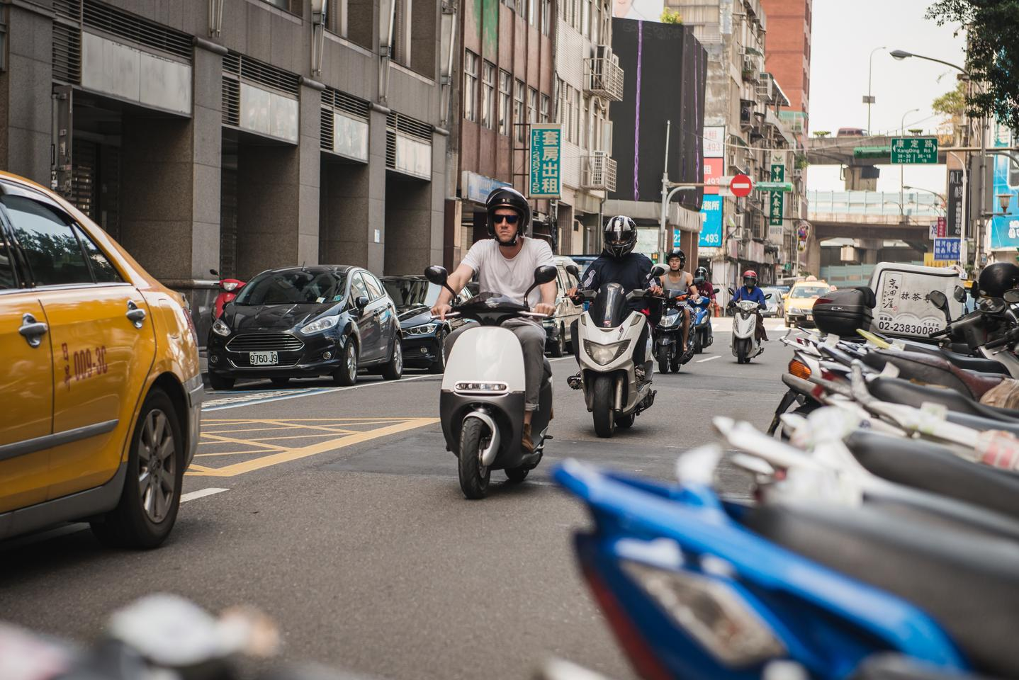 Gogoro's smart scooters will soon be available in Taiwan as part of a rental service