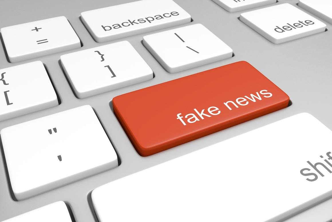 How can the problem of fake news be addressed in a post-truth world?