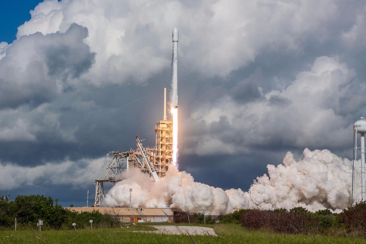 Today's launch was the fifth OTV mission and the first launched by SpaceX