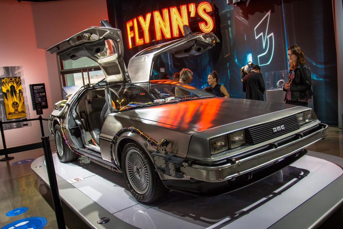 Movie cars don't get much more memorable than the time-traveling DeLorean from Back to the Future