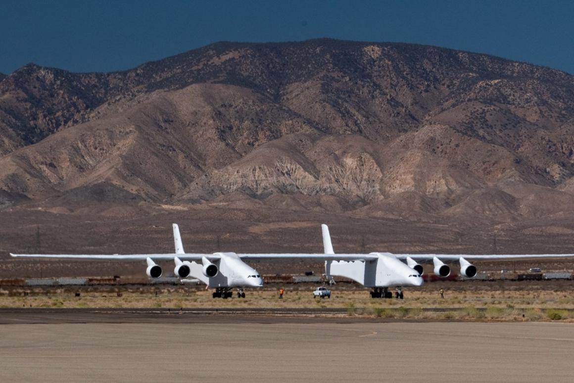 The Stratolaunch aircraft has passed another key milestone on the road to getting into the air