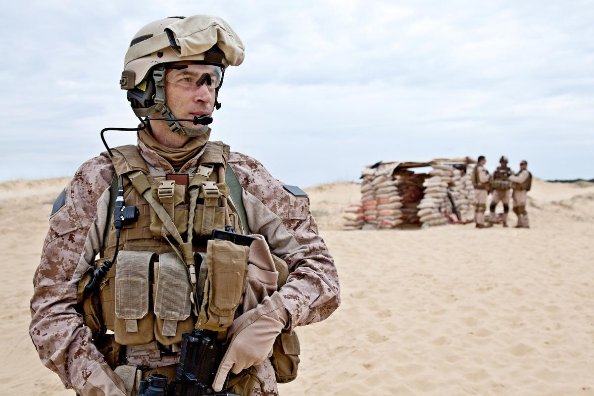 The BAE tech will allow soldiers to wear ear protection while still being able to hear radio communications