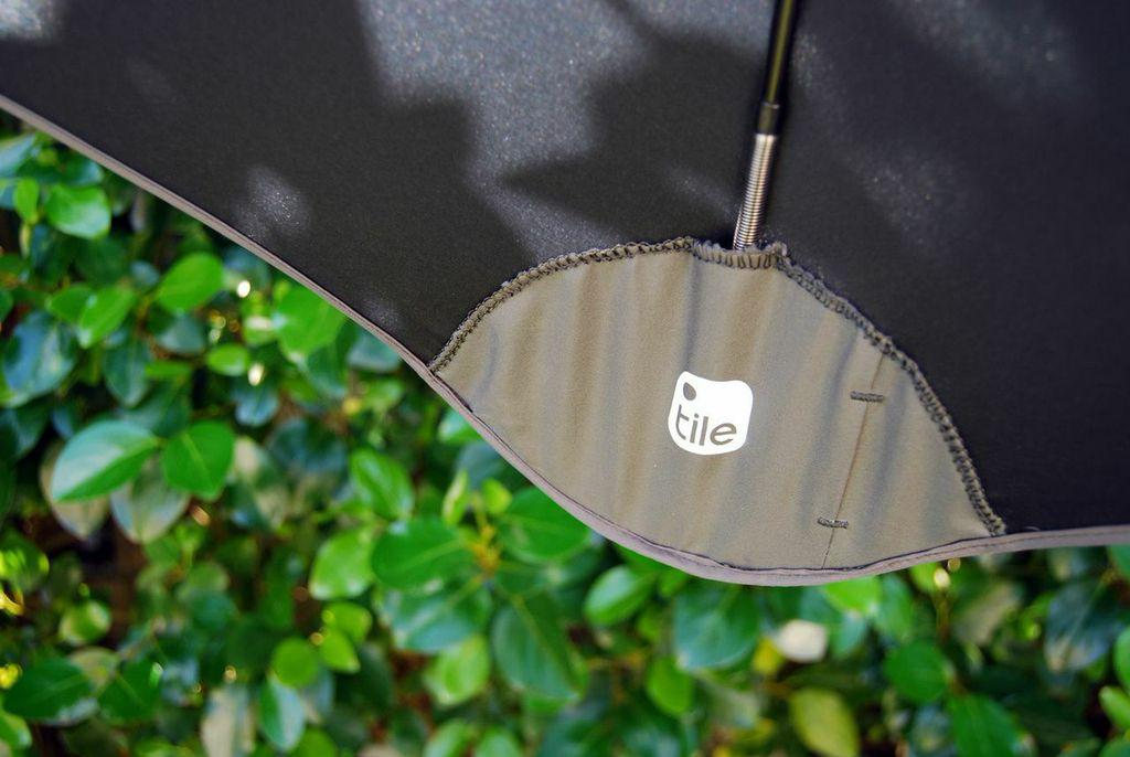 The unique design does away with the sharp metal points protruding from the canopy's edges, replacing them with blunt tips to make the umbrella less of a threat to nearby eyeballs