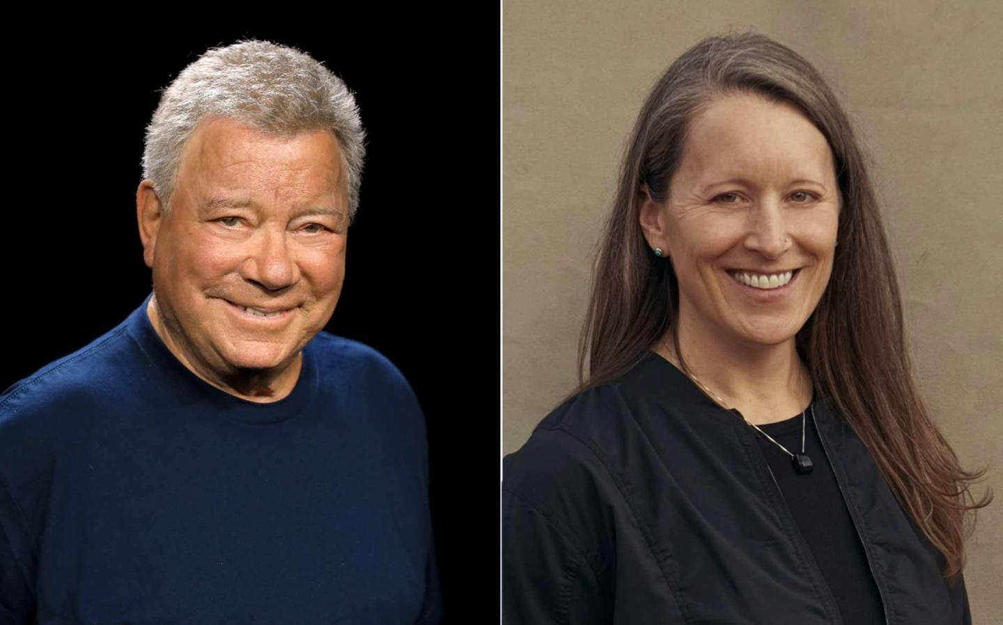 William Shatner and Audrey Powers will be flown into space on Blue Origin's upcoming NS-18 mission