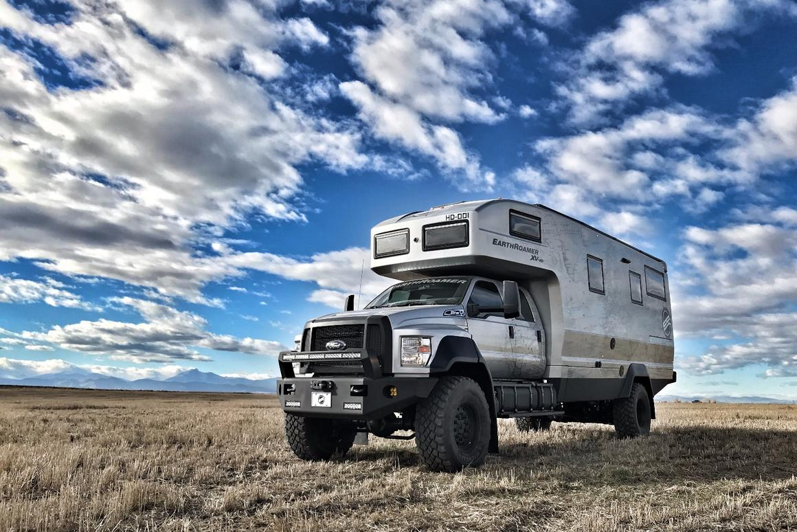EarthRoamer goes huge, far and wide with the $1 5 million XV