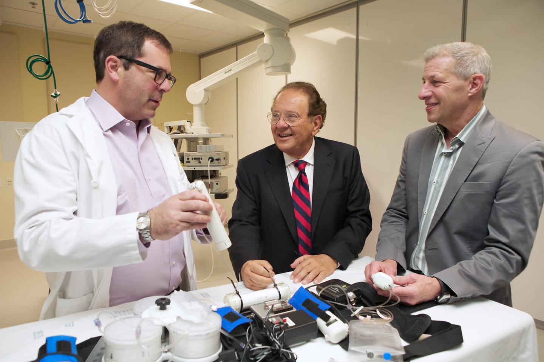 From left, developers of the WAK, Jonathan Himmelfarb, Victor Gura and Larry Kessler