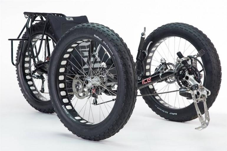 ICE used its Sprint trike as the basis for the extreme build, including standard components like its ergonomic mesh seat and indirect steering system