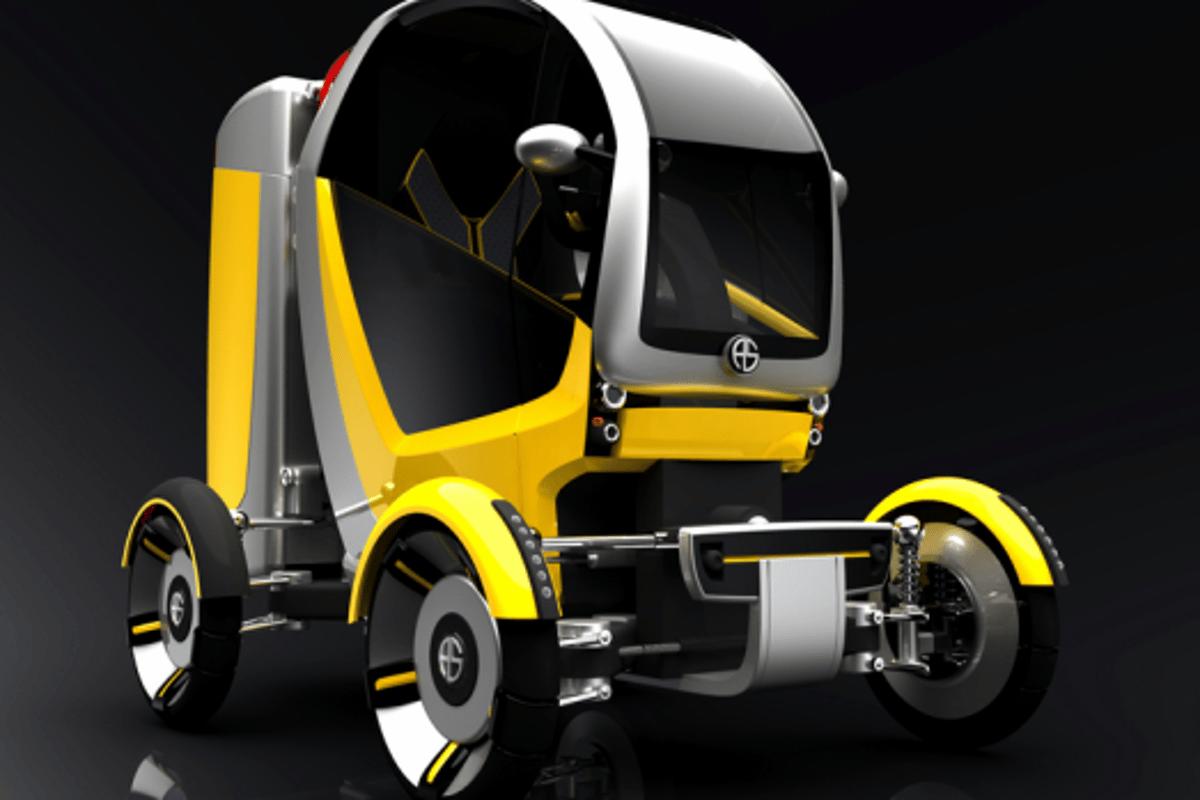 Cargo design in compact mode