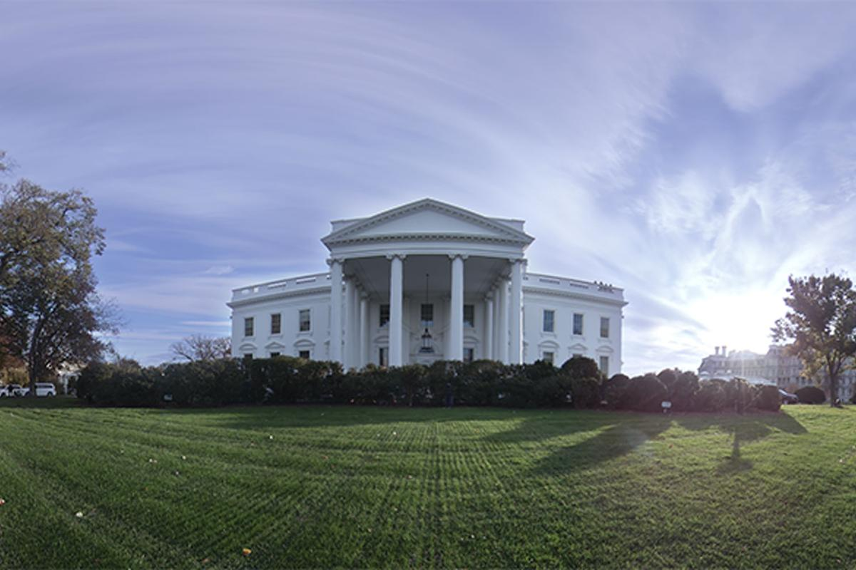 """""""The People's House: A Tour of the White House with Barack and Michelle Obama"""" offers a personal 360-degree tour of the USpresidential mansion"""