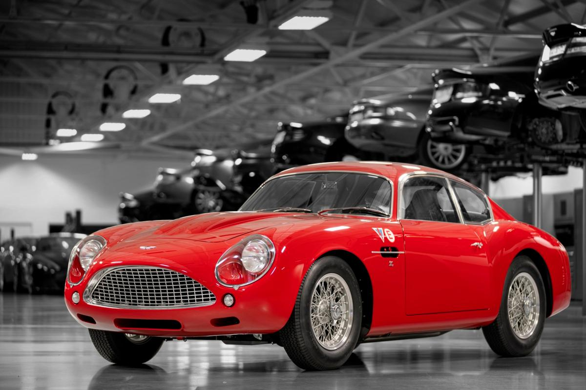 Each Aston Martin DB4 GT Zagato Continuation isconstructed to the highestquality using a blend of Sir David Brown-era old-world craftsmanship and the sympathetic application of modern engineeringand performance enhancements. The new car is expected to comfortablytop 160 mph.