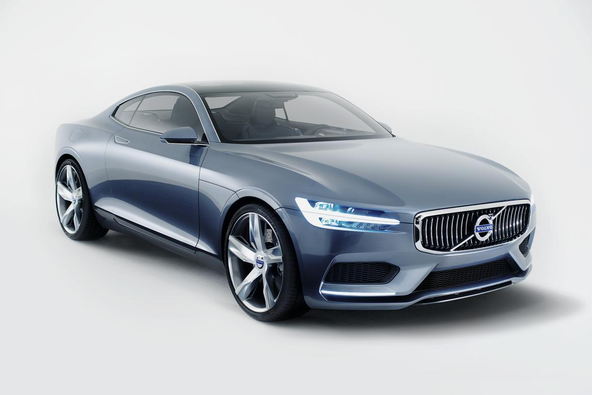 Body-builder in an Armani suit? Volvo's latest concept design aims to marry power and refinement