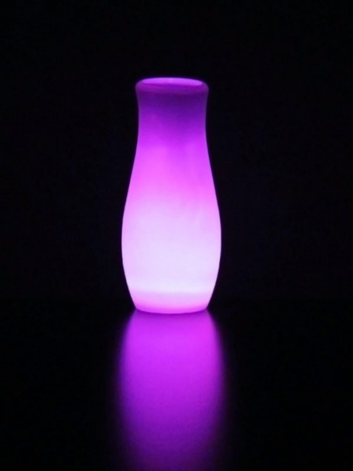 The Psyleron Mind Lamp changes color due to the power of the human mind … we think