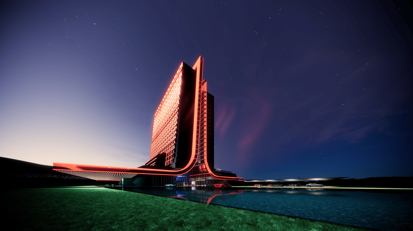 The Las Vegas Atari Hotel will include up to 30 floors