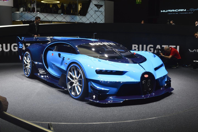 The Bugatti Vision Gran Turismo in the flesh at IAA