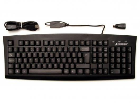 The Silver Seal washable keyboard