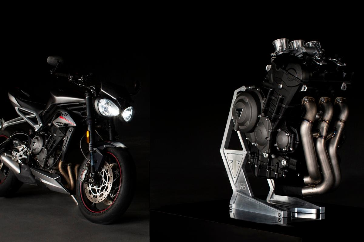 From streetbike to supernova: Triumph's 765cc triple is set to take over as the sole engine for Moto2 from 2019 onwards