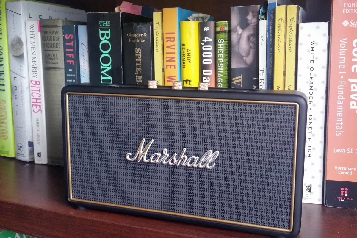 The Marshall Stockwell looks amazing, while it delivers impressive output for its size