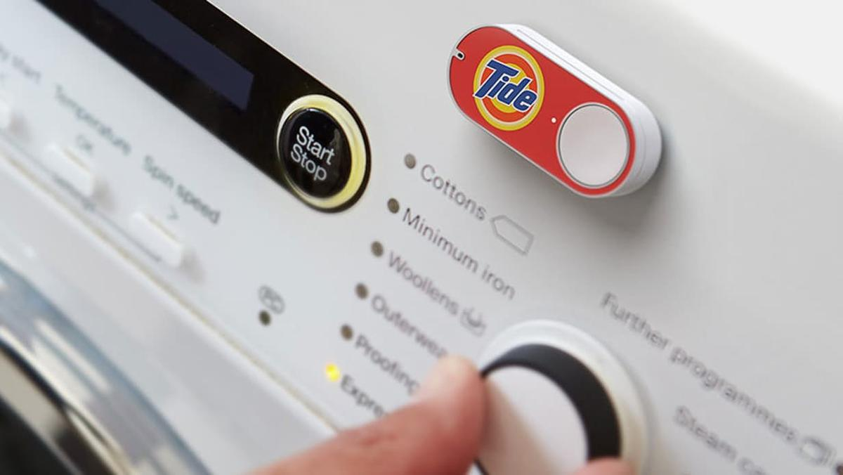 Amazon Dash Buttons are thumb-sized devices which let you order specific products with one click